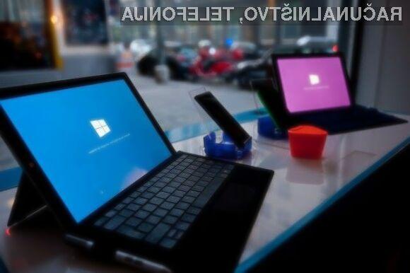 Povpraševanje po tablicah Microsoft je oktobra letos preseglo tudi najbolj optimistične napovedi!