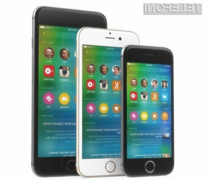 Mobilnik iPhone 6c naj bi bil najmanjši in najcenejši iPhone v prodaji.