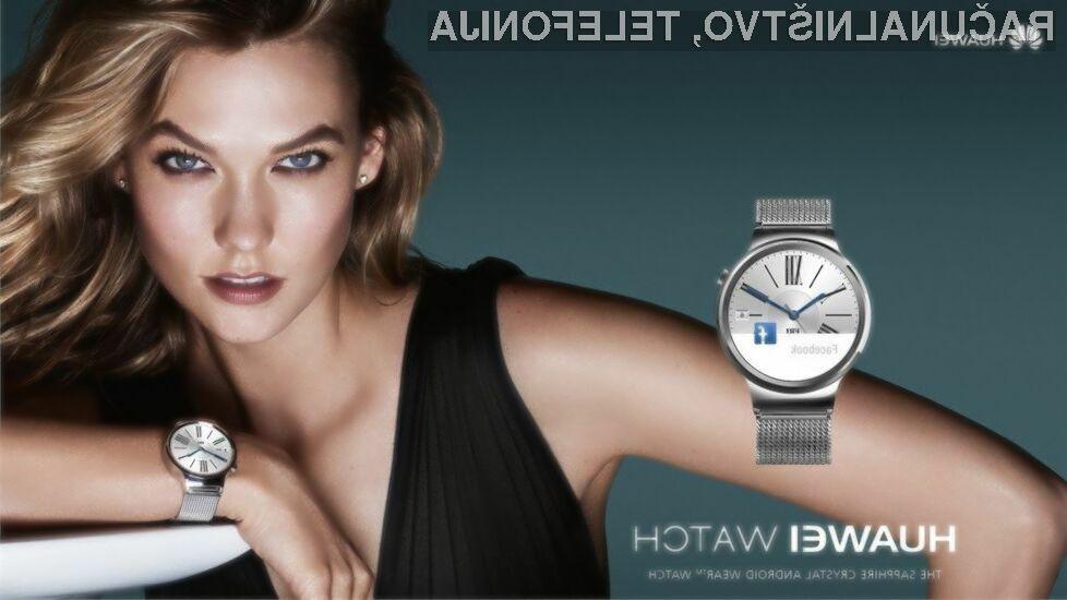 Ženstvena pametna ročna ura podjetja Huawei naj bi bil zadetek v polno!