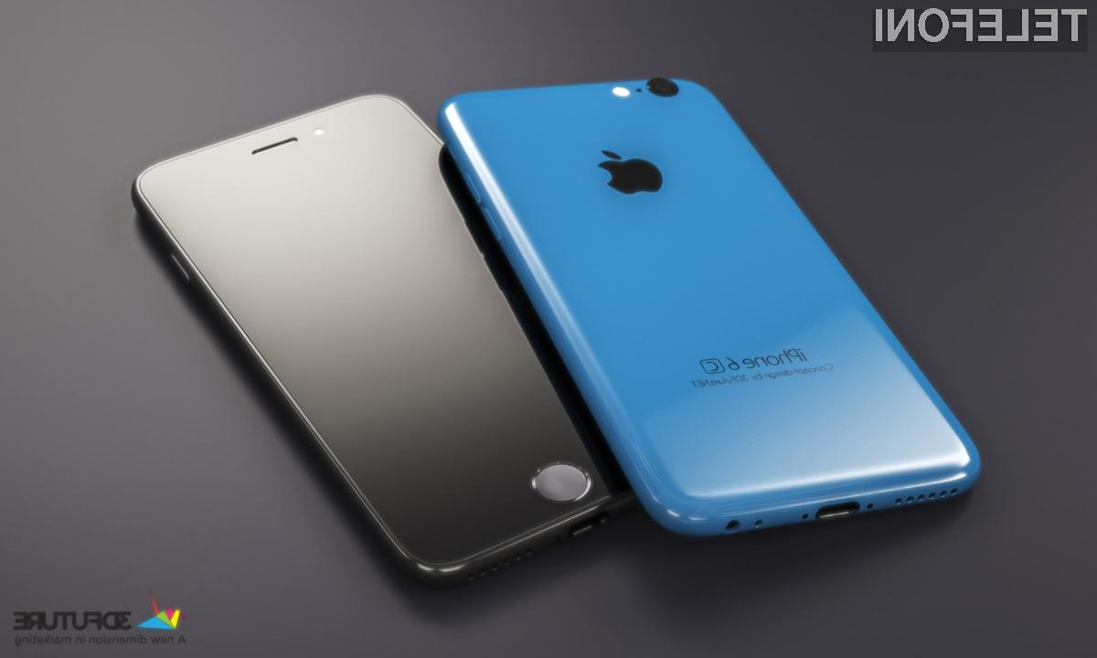 Mobilnik iPhone 7c naj bi bil najmanjši in najcenejši iPhone v prodaji.
