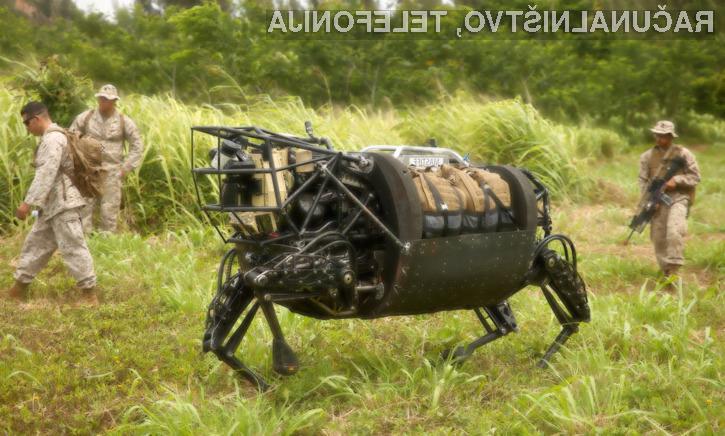 Robotski konj LS3 je bil za ameriško vojsko enostavno preglasen!