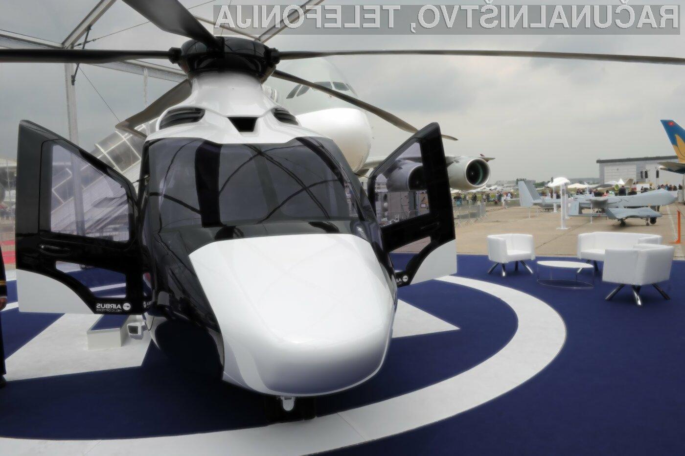 Z aplikacijo Uber bo lahko priklicali tudi zasebni helikopter!