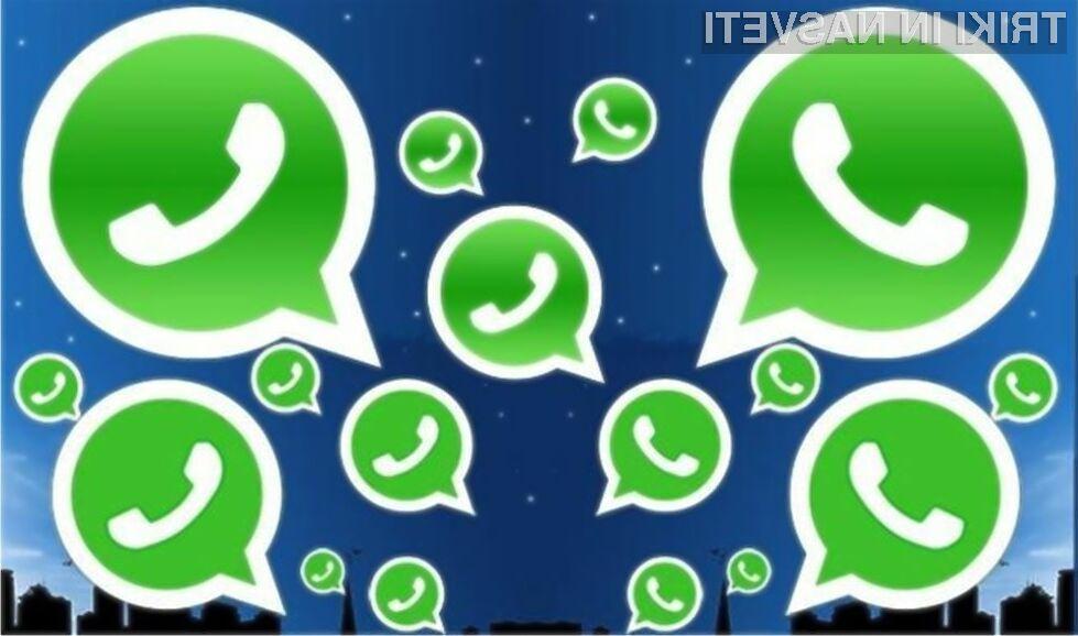 Stroške brezplačnega WhatsAppa bodo nosila pretežno podjetja!