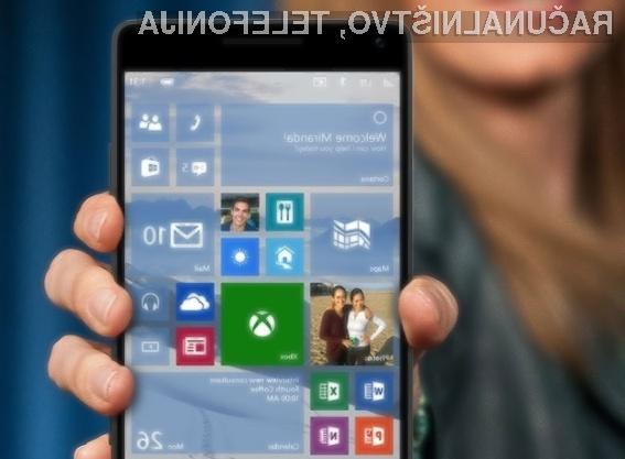 Samodejna nadgradnja na Windows 10 Mobile bo vsem uporabnikov mobilnih telefonov Windows Phone na voljo kmalu!