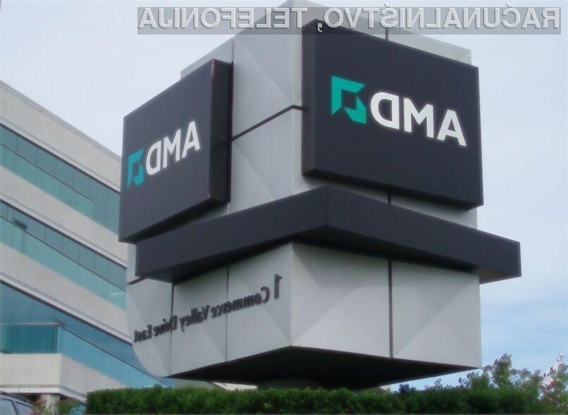Podjetje AMD za slabo poslovanje krivi predvsem upočasnitev kitajskega gospodarstva.