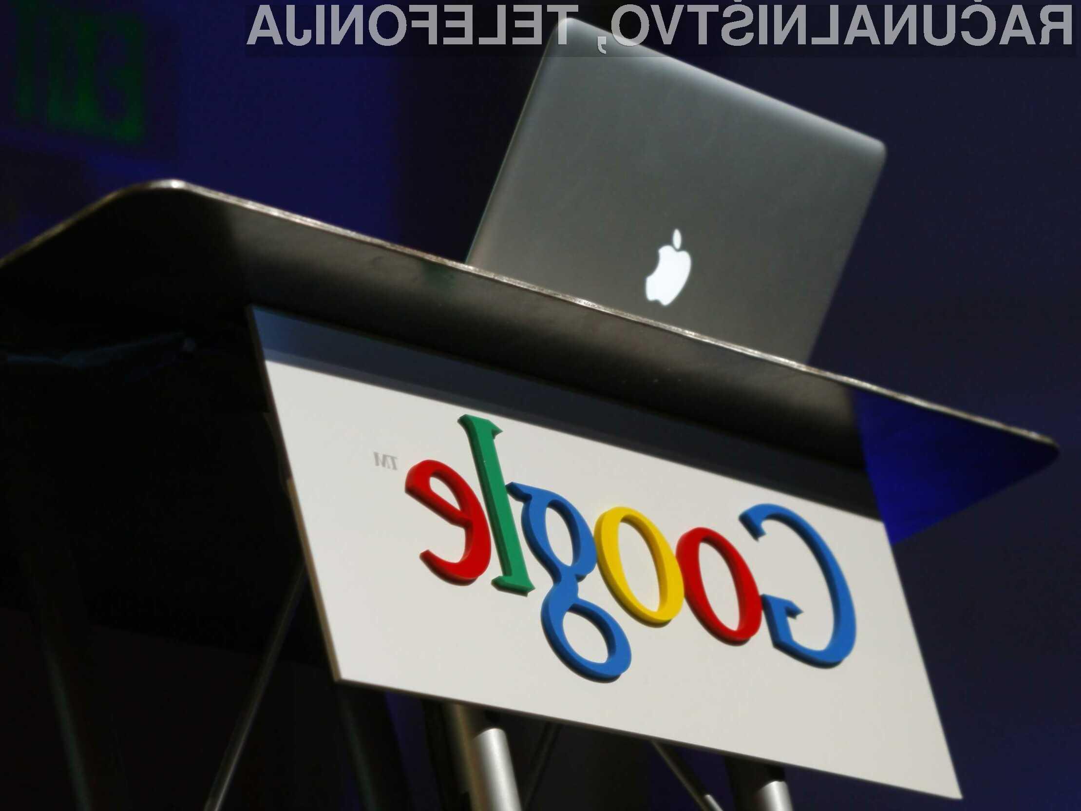 Uporabniki naprav iOS naj bi bili za podjetje Google zelo dobičkonosni!