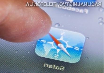 Zaradi spletne strani crashsafari.com je potreben ponovni zagon naprave iOS.