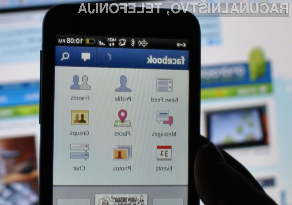 Facebook naj bi se namerno igral z »živci« uporabnikov mobilnih naprav Android.