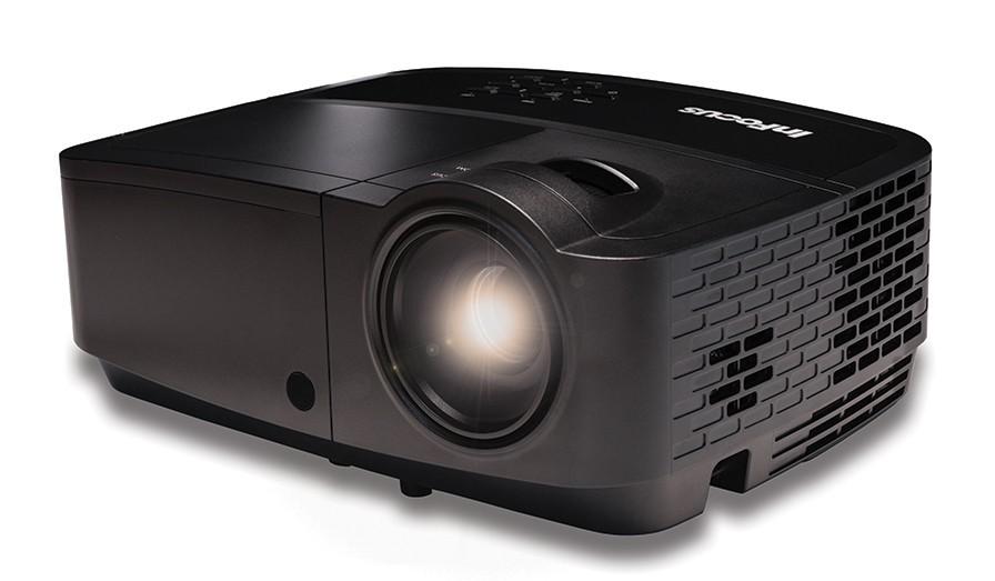 InFocus serija IN110X za dostopno ceno ponuja mobilen projektor, ki v najboljši izvedbi ponuja prikaz vsebin v HD ločljivosti.s