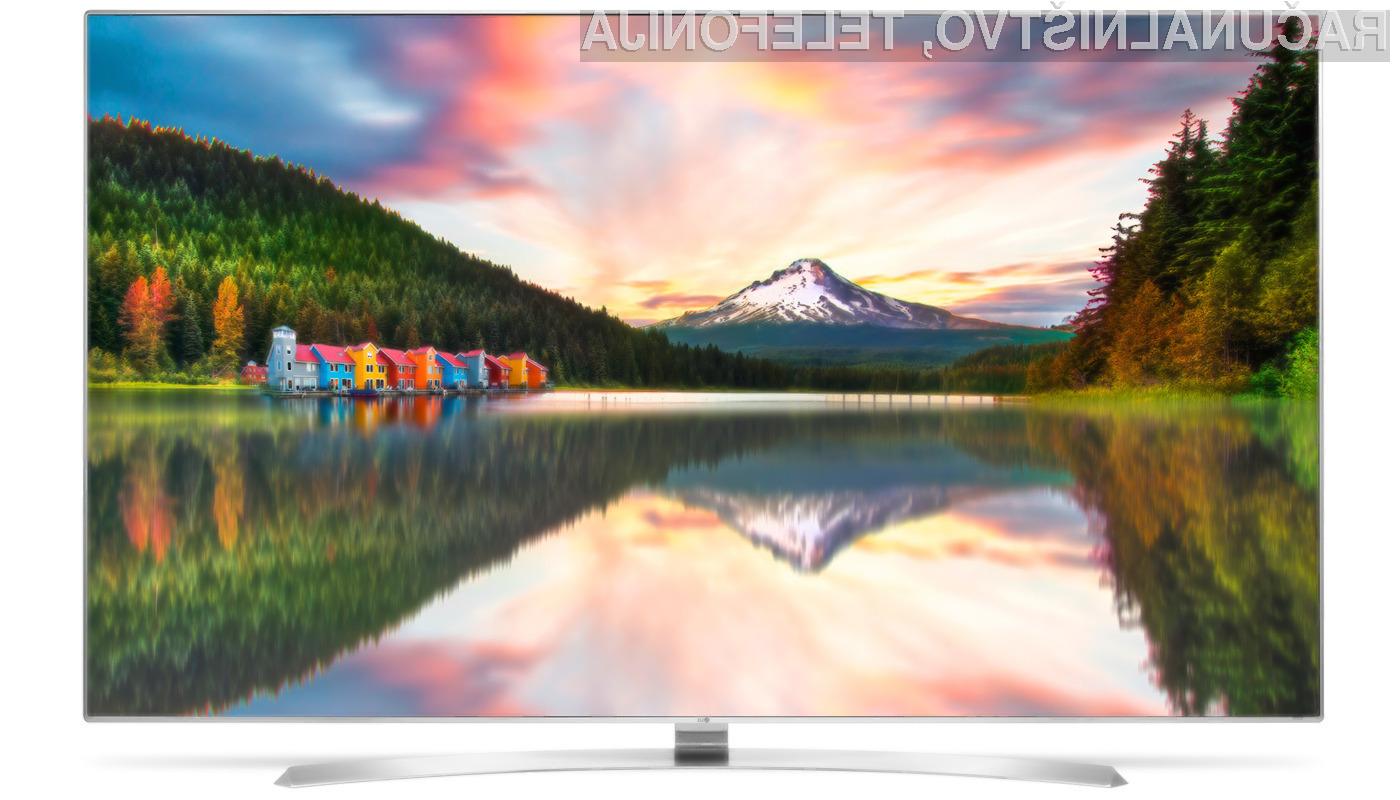 Pri podjetju LG so prepričani, da bodo televizorji 8K kljub visoki ceni šli dobro v prodajo!