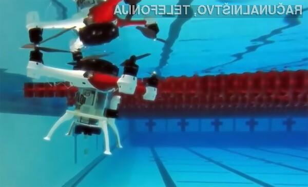 Loon Copter je prvi dron doslej, ki lahko leti, plava in se potopi.