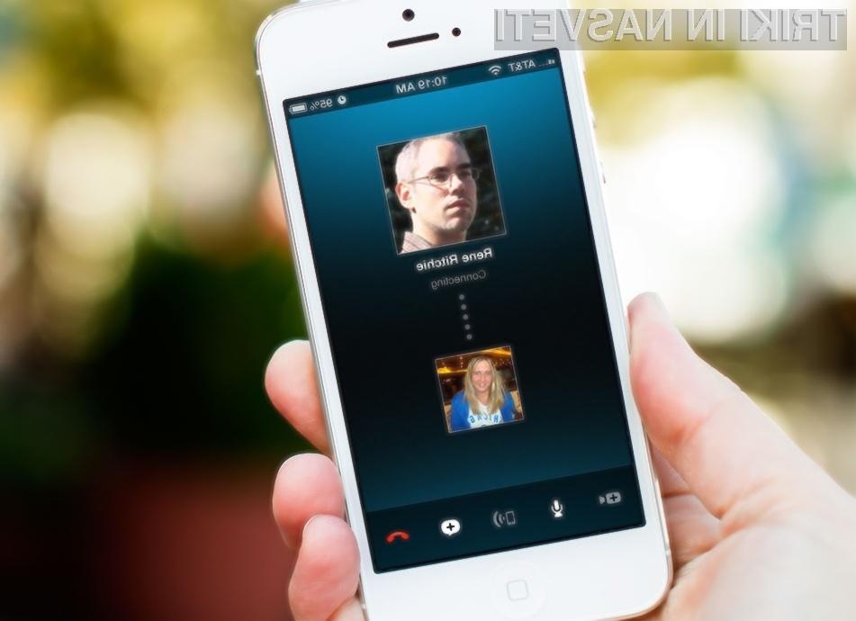 Mobilni Skype bo kmalu pridobil možnost brezplačnih skupinskih pogovorov!