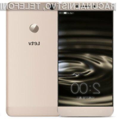 Zmogljiv pametni mobilni telefon Letv 1s je dostopen po nadvse ugodni ceni.