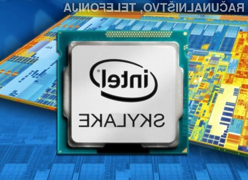 Podjetje Intel bo uporabnikom po vsej verjetnosti preprečilo navijanje procesorjev običajnih procesorjev Skylake.