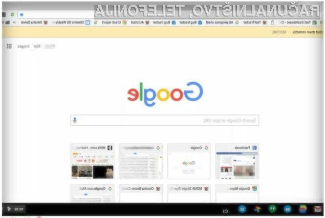 Novi Google Chrome z materialnim oblikovanjem bo najprej na voljo uporabnikom operacijskega sistema Chrome OS.