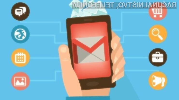 Novi Gmail za Android v celoti posnema tistega za spletne brskalnike!