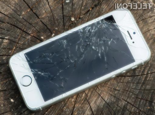 Apple bo za poškodovan mobilni telefon iPhone pri nakupu novega pripisal dobroimetje v višini do preračunanih 180 evrov.
