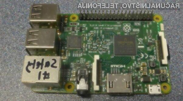 Miniaturni računalnik Raspberry Pi 3 bo bogatejši za Bluetooth in Wi-Fi!