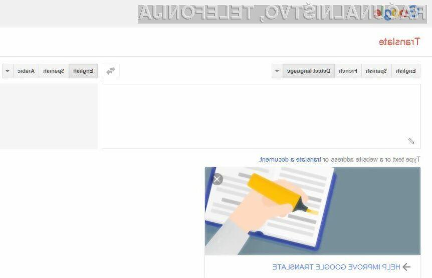 Spletna storitev Google Translate je bogatejša za 13 novih jezikov!