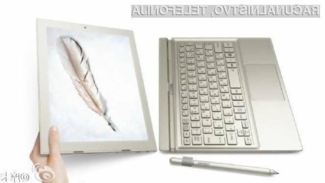 Prenosni računalniki Huawei MateBook naj bi omogočali preklapljanje med sistemoma Windows in Android.
