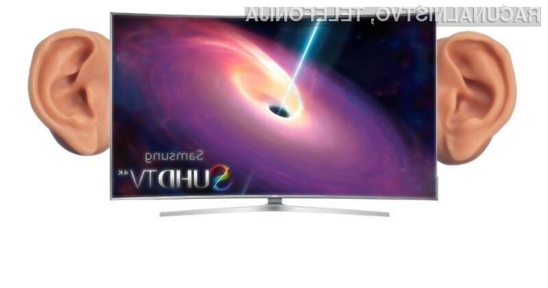 Pametni televizorji z možnostjo prepoznave glasovnih ukazov vse vaše pogovore posredujejo oddaljenim strežnikom.