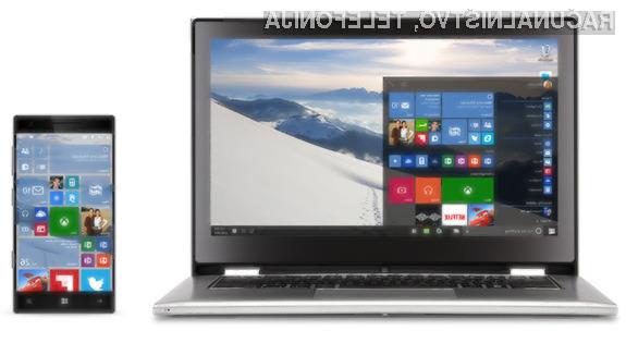 adgradnja na Windows 10 je bila uvrščena med priporočene popravke.