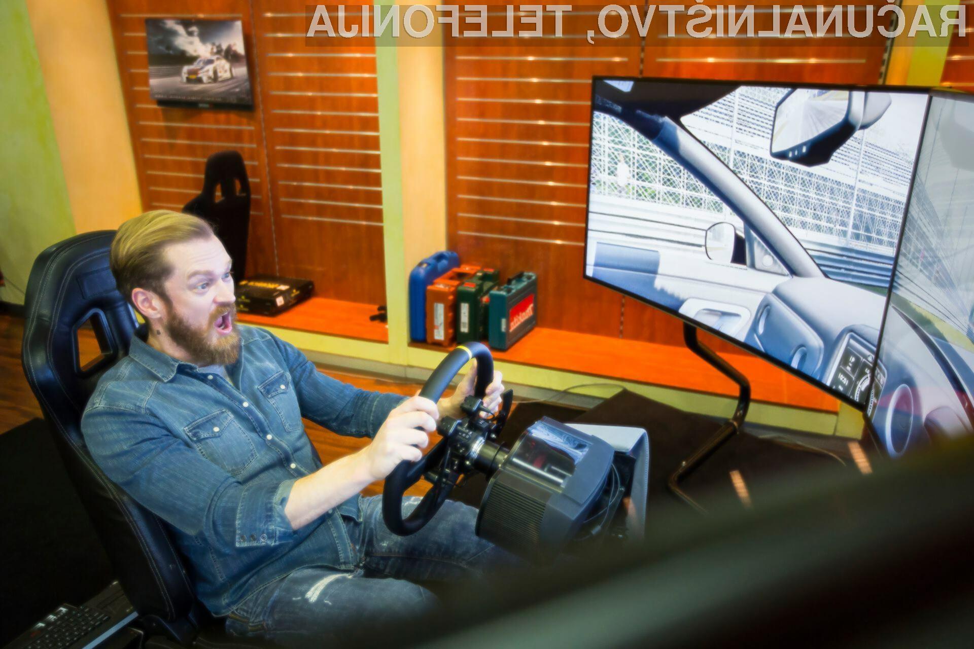 Simulator vožnje NERVteh je uporaben tudi za povečanje varnosti na cesti.