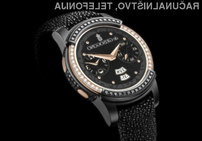 Pametna ročna ura De Grisogono se bo brez težav prikupila najbogatejšim in najzahtevnejšim uporabnikom.