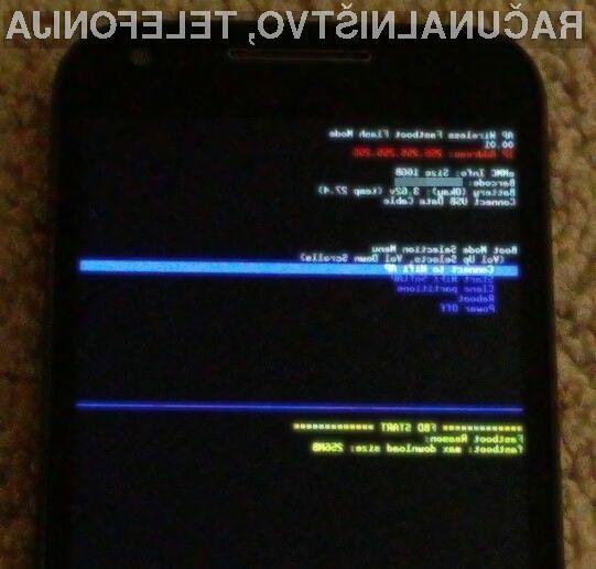 Za nameščanje Androida na pametni mobilni telefon kabel USB ne bo več potreben.