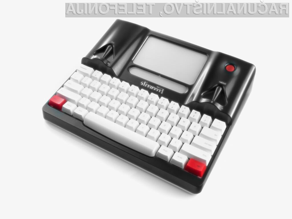 Pametni pisalni stroj Freewrite bo zagotovo kmalu postal pravi prodajni hit.