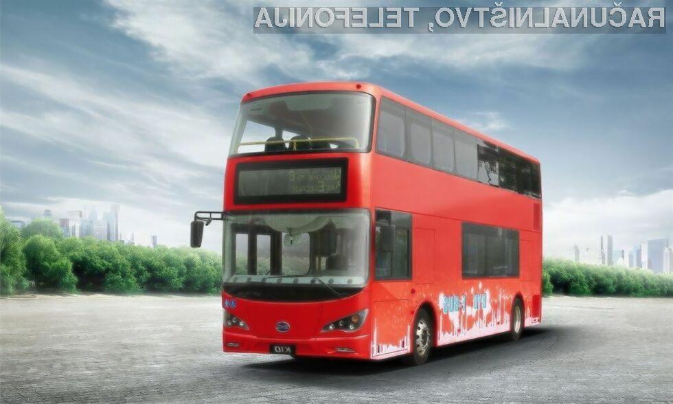 Za vsak ekološki avtobus bo moralo londonsko transportno podjetje odšteti preračunih 450 tisoč evrov.