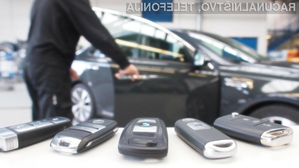 Za krajo avtomobila potrebujemo le dvoje anten, nekaj poceni elektronike in baterijo.