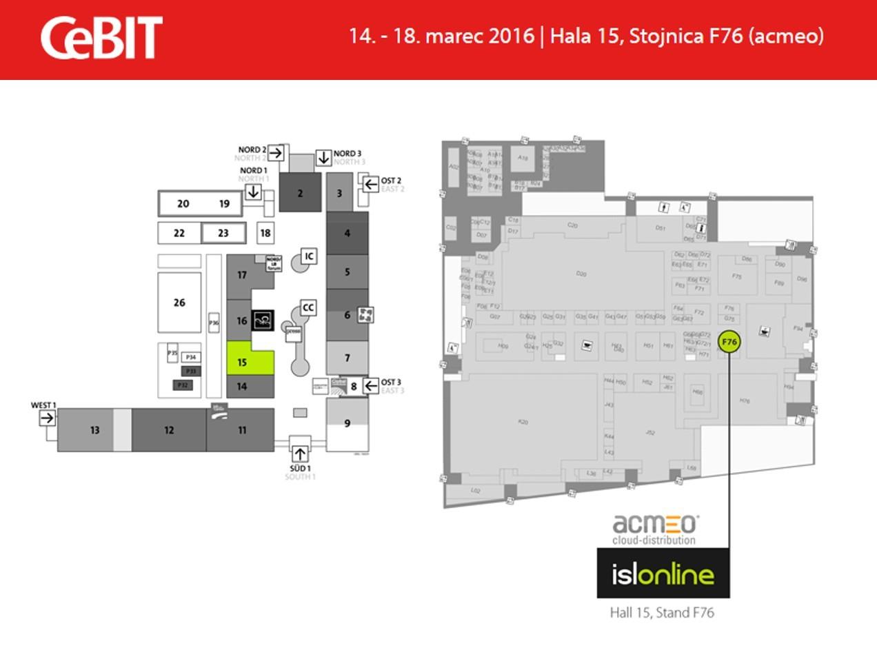 XLAB bo razstavljal od 14. do 18. marca v hali 15, na stojnici F76