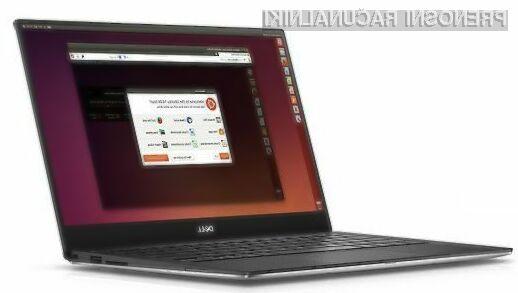 Prenosnik Dell XPS 13 Developer Edition je opremljen z operacijskim sistemom Ubuntu Linux 14.04!