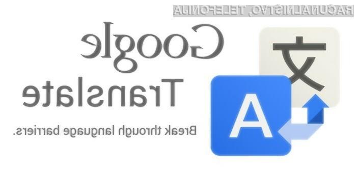 Umetna inteligenca naj bi znatno izboljšala storitev Google Translate.