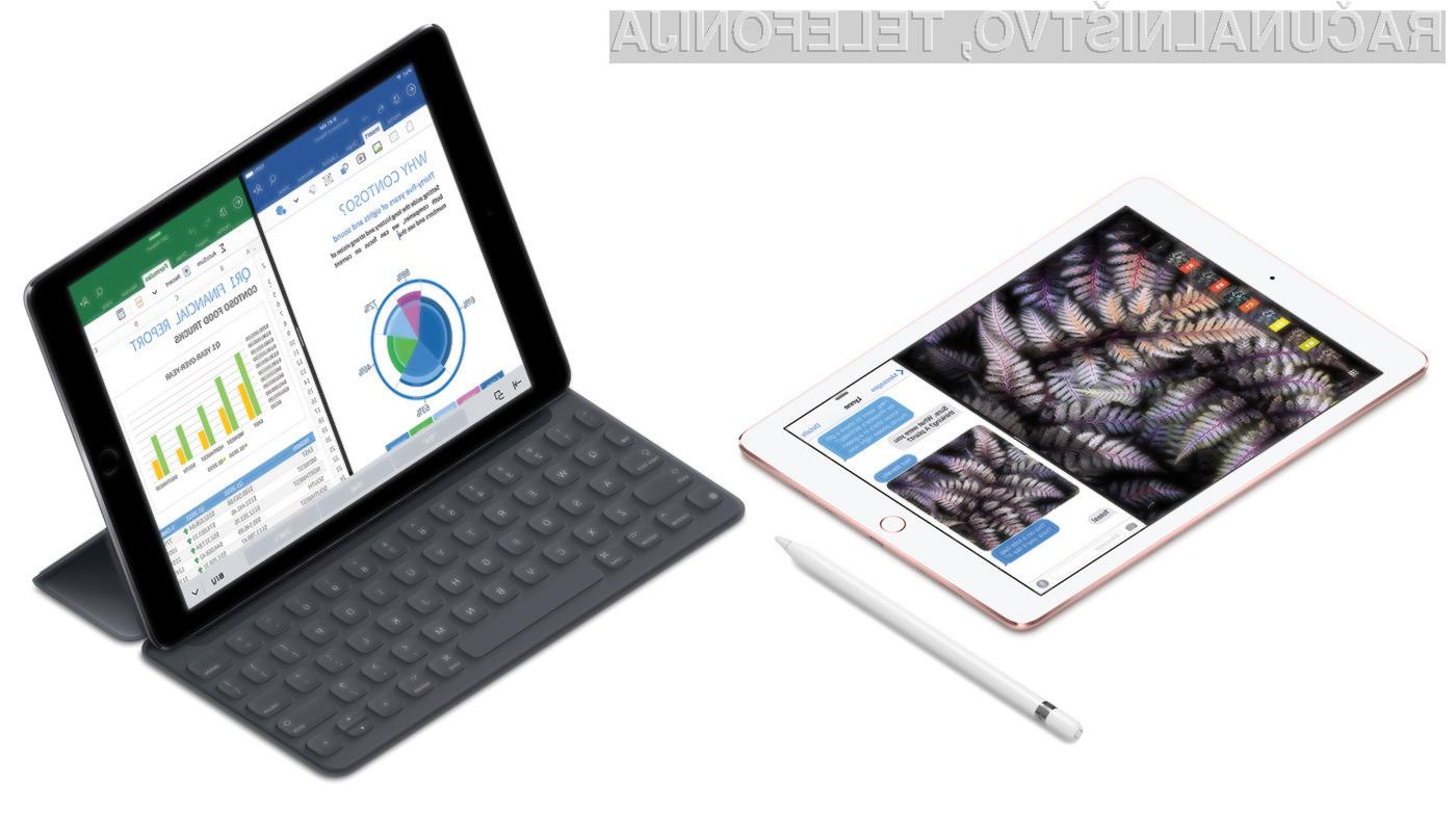 Novi iPad Pro je namenjen najzahtevnejšim uporabnikom, ki zaradi narave dela potrebujejo kompaktnejši tablični računalnik.