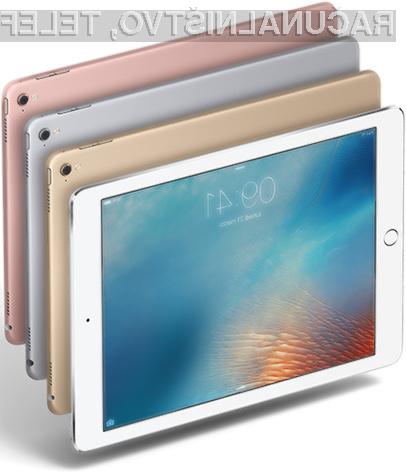 Novi tablični računalniki iPad naj bi zamudili zaradi težav s procesorji A10X.