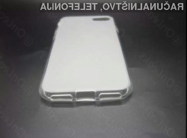 Proizvajalci zaščitnih etuijev naj bi od Appla že prejeli obliko mobilnega telefona iPhone 7.