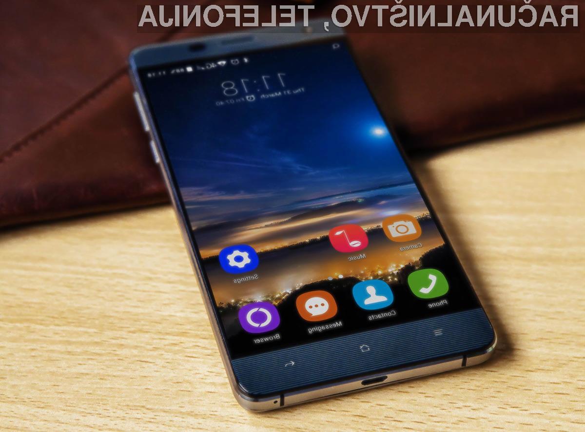 Mobilni telefon Oukitel K6000 odlikujejo odličen zaslon, zmogljiva baterija in nizka cena!