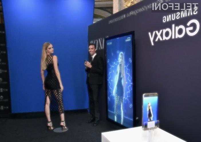Prvi upogljiv mobilni telefon Samsung naj bi bil nared za prodajo že v prvi polovici naslednjega leta.