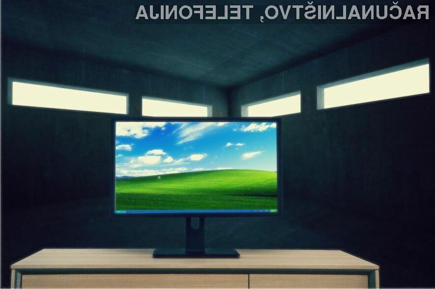 Zastareli in ranljivi Windows XP še vedno uporablja več kot desetina vseh uporabnikov osebnih računalnikov.