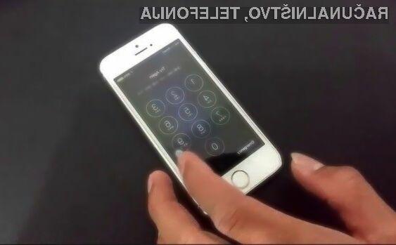 Apple naj bi ranljivost v mobilnem operacijskem sistemu iOS 9.3.1 odpravil kmalu.