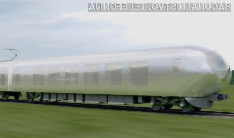 Japonski vlak Red Arrow naj bi prve potnike popeljal že leta 2018.