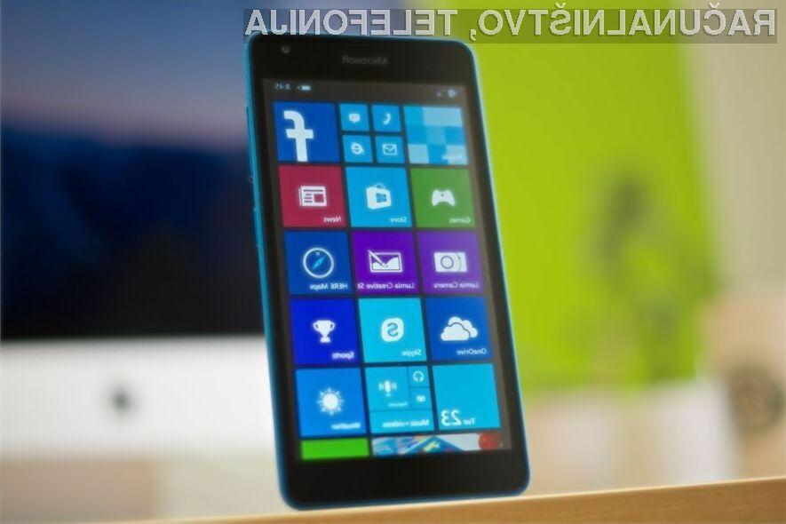 Pametni mobilni telefoni Microsoft Surface naj bi luč sveta ugledali v prvi polovici naslednjega leta.