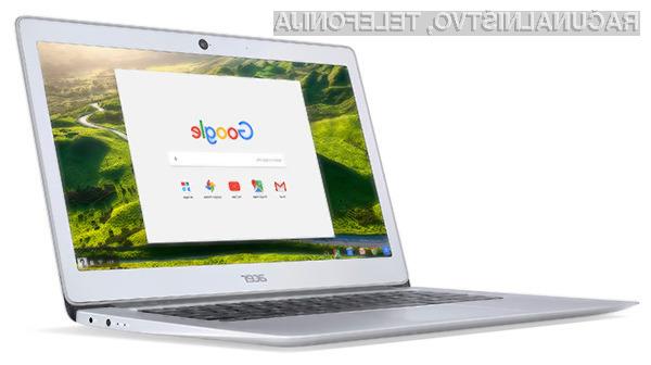 Kompaktni prenosnik Acer Chromebook 14 for Work bo odličen pripomoček za delo!