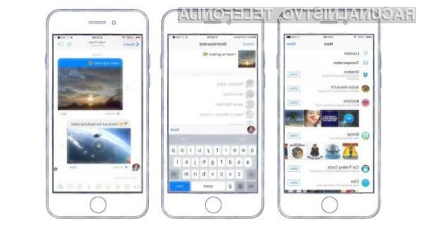 Facebook Messenger in Dropbox sta odslej še bolj povezana!
