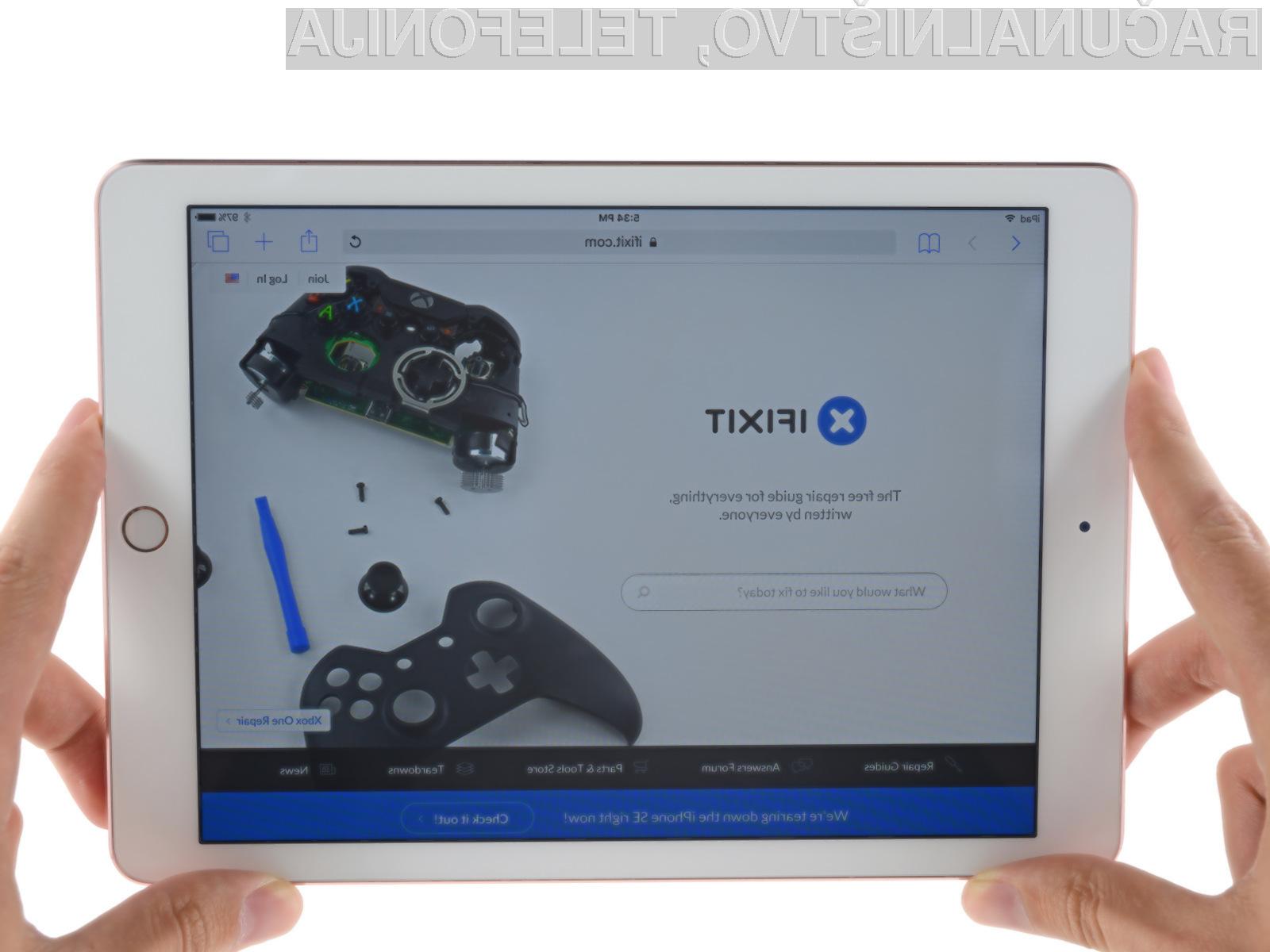 Novi iPad Pro bo prava nočna mora za nepooblaščene serviserje!