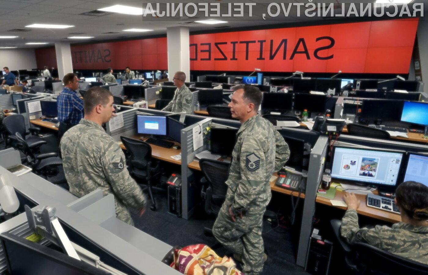 Ameriška vojska za boj proti terorizmu uporablja tudi računalnike!