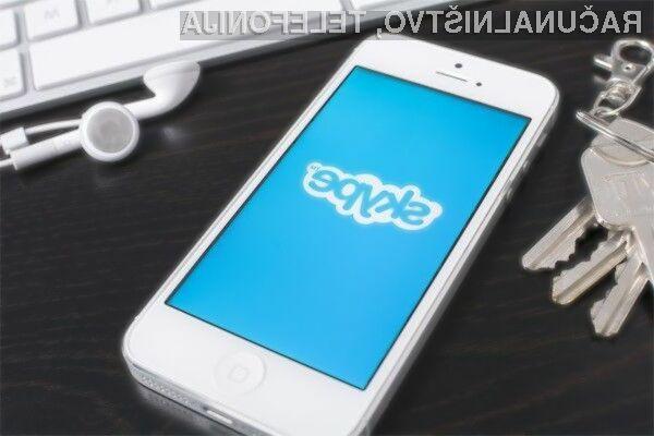 Mobilni Skype postaja iz leta v leto boljši!