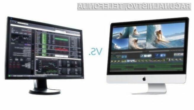 Osebni računalniki pri delu z grafiko že prekašajo Applove računalnike iMac!